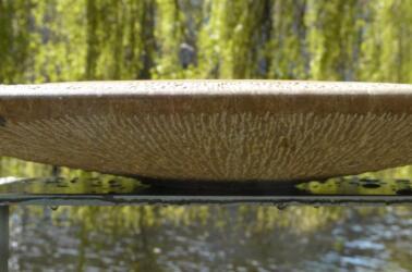 waterbeeld 17 - Pakistaanse kalksteen - 35x35x5cm