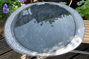waterbeeld 13 b - Ierse kalksteen - 45x35x4cm, €950