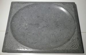 3)  waterbeeld 15, 2018, anröchter kalksteen, 40,5x31x4 cm, €950