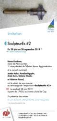 Invitation 2 expo Plérin-sur-mer juli-sept 2019