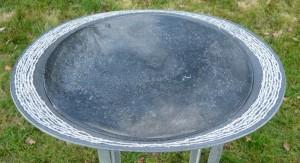 waterbeeld 13 - Ierse kalksteen - 45x35x4cm