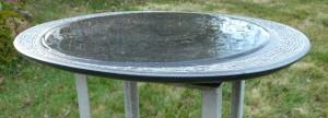 waterbeeld 13a - Ierse kalksteen - 45x35x4cm