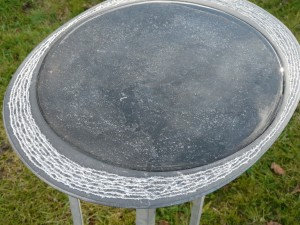 waterbeeld 13b - Ierse kalksteen - 45x35x4cm